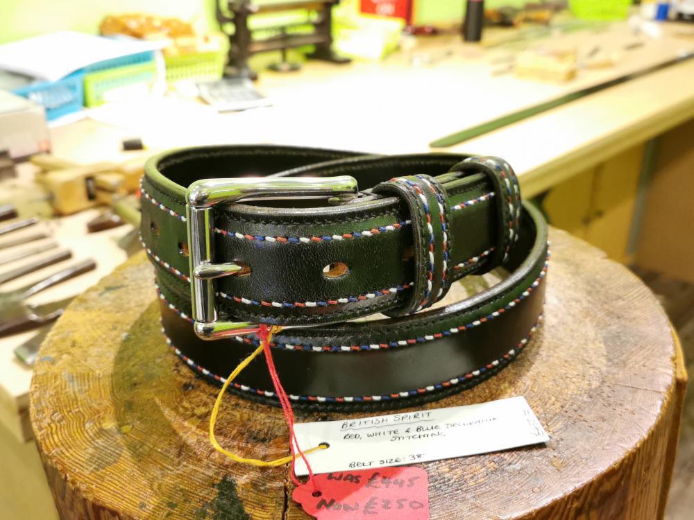 SOLD - SALE - British Spirit Belt - Was £455, Now £250