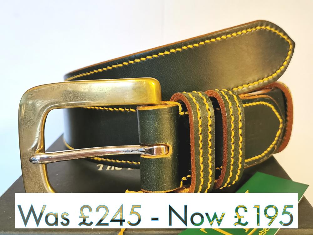 #SALE - Dining Belt Border style in Green and Yellow (small-med) - SOLD