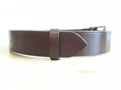 Classic Belt in Australian Nut and Black