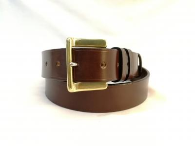 *New* Classic Belt in Australian Nut and Brown