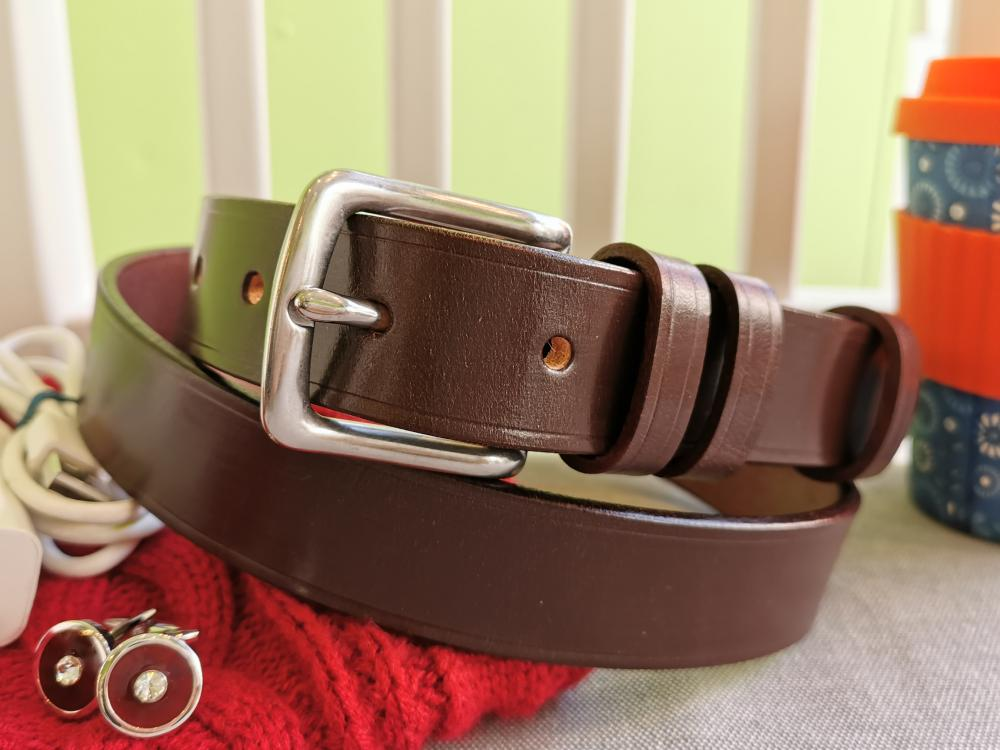 Classic Belt in Australian Nut Brown - in stock