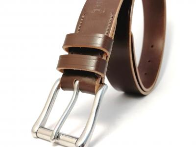 *New* Classic Belt in Australian Nut and Natural