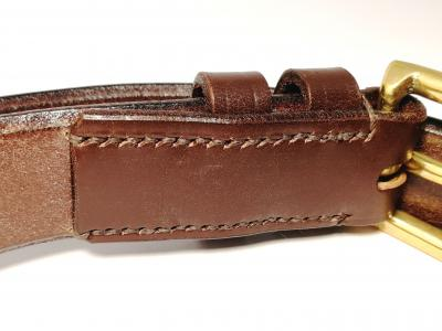 Classic Formal Belt in Australian Nut and Brown