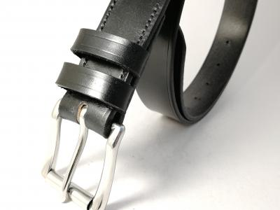 Classic Belt in All Black - in stock
