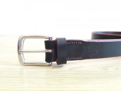 Classic Bold Belt in Black and Red