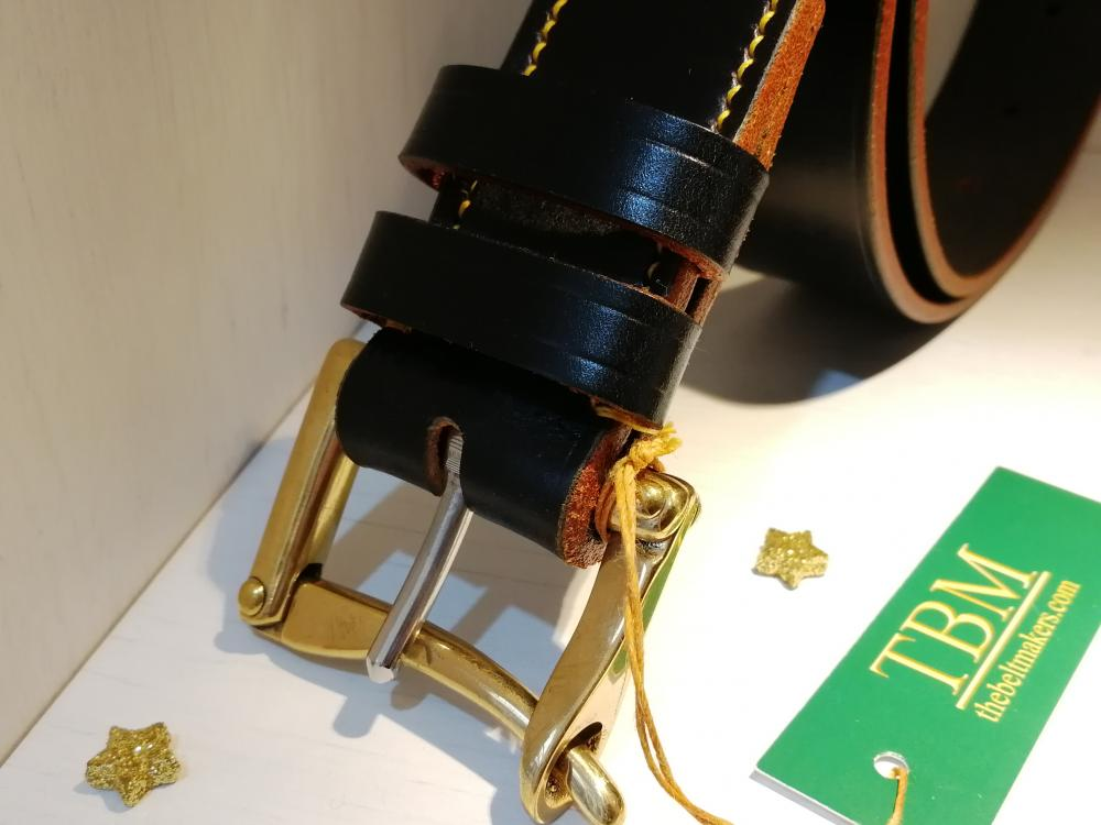(1 left) Quick Release Fireman's (Marshalsay) Buckle on Black with yellow detail