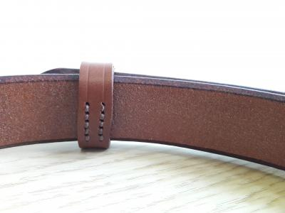 Classic Formal Belt in Conker and Brown