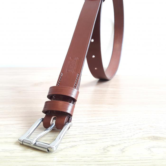 *New* Classic Formal Belt in Conker and Brown