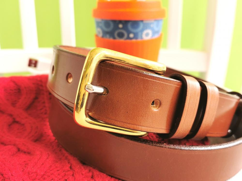 Classic Belt in Conker Brown - in stock