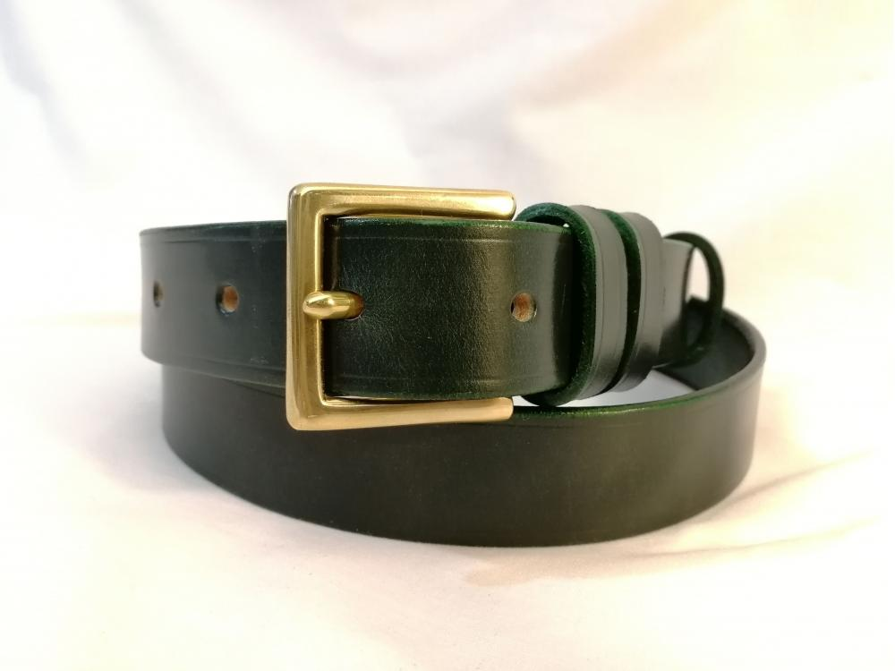 Classic Belt in Dark Green