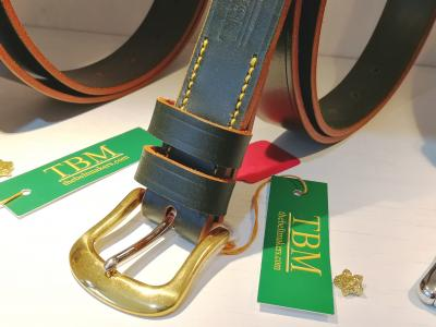 (1 only) Ex-Display: Classic belt in Green and Yellow