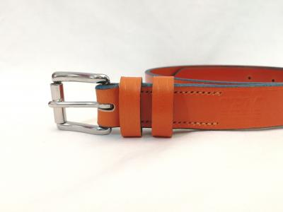 (Last one) Classic Belt in Orange and Blue