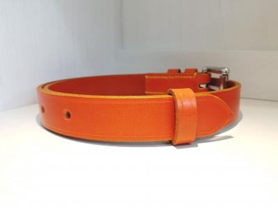 (Last one) Classic Belt in Orange and Yellow