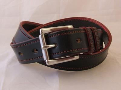 Handstitched Border Belt