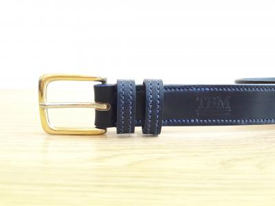 Border Belt in Black and Blue