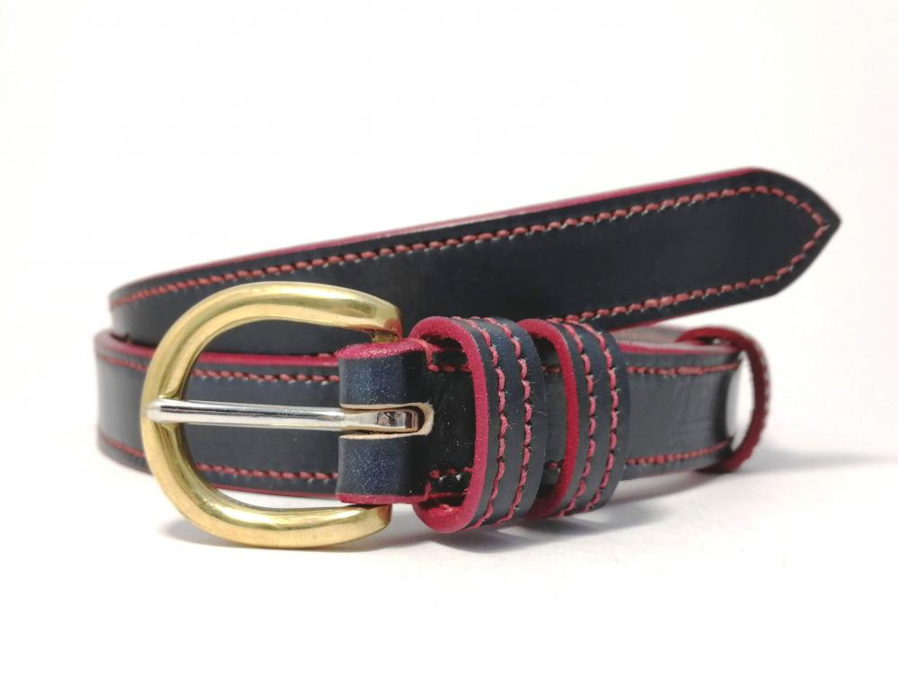 Border Belt in Blue and Red
