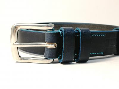 (1 ex-display item in stock today) Teal Trims: Classic Belt in Blue and Teal (Limited Edition)