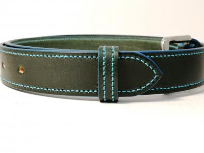 Teal Trims: Border Belt in Green and Teal (Limited Edition)