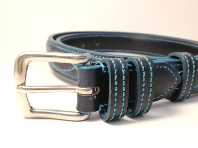(1 ex-display item in stock today) Teal Trims: Raised Diamond Eye in Blue and Teal (Limited Edition)