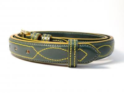 Yellow Trims: Raised Diamond Eye in Green and Yellow