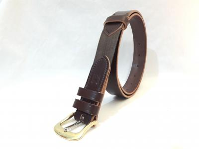Dining Belt in Australian Nut and Natural, Classic style