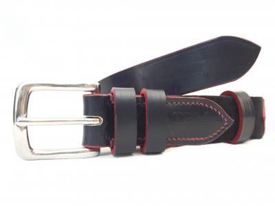 Dining Belt in Blue and Red, Classic style