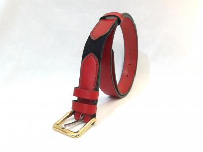 Dining Belt in Red and Green, Classic style