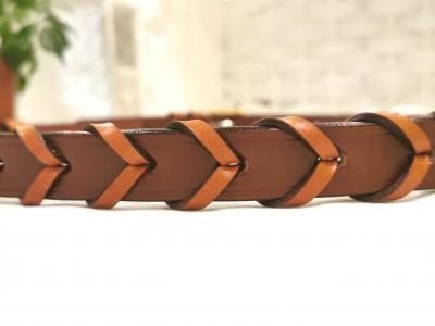 NEW - Laced Belt, Single Laced Design