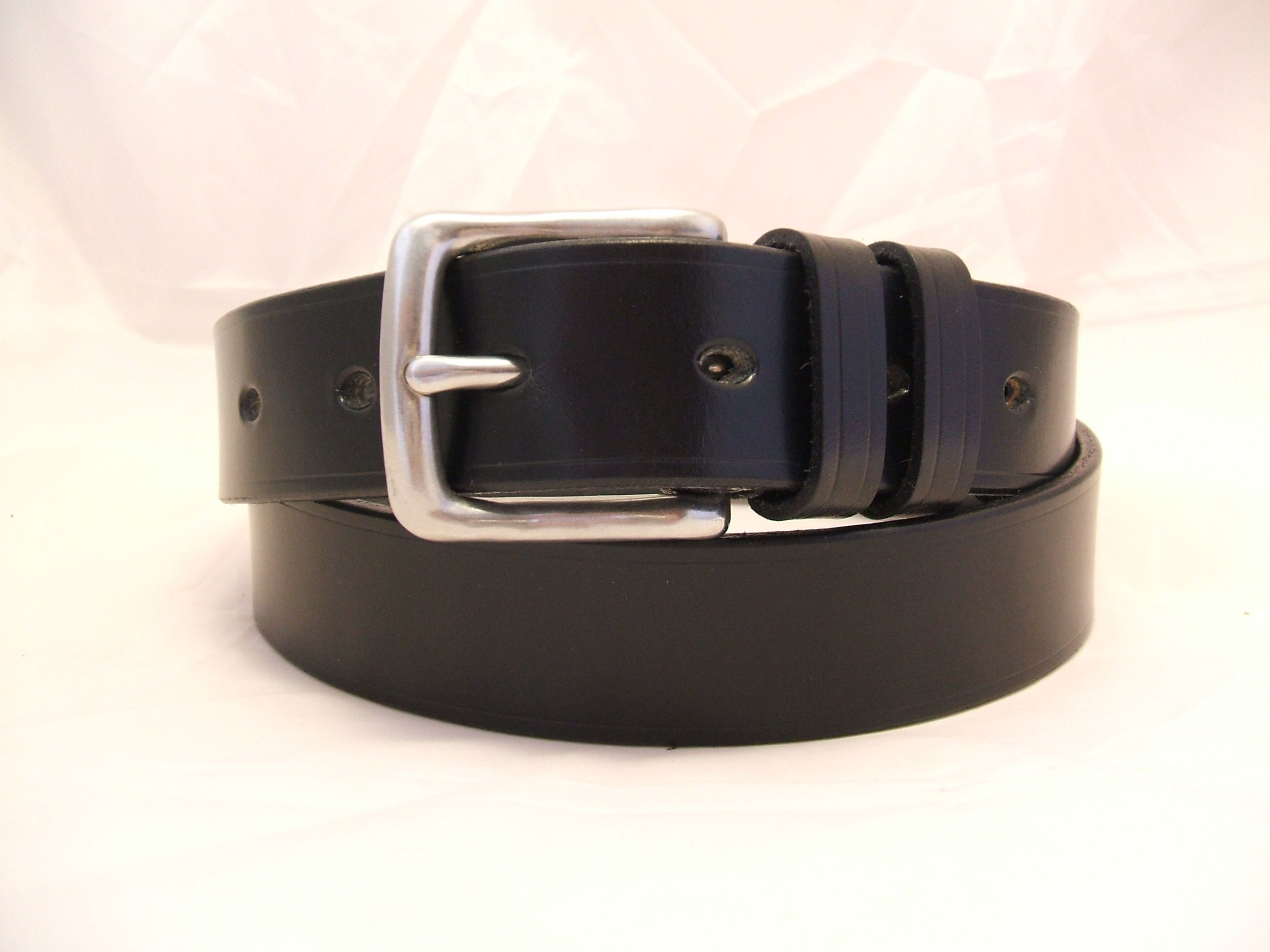 Classic style TBM belt in Black