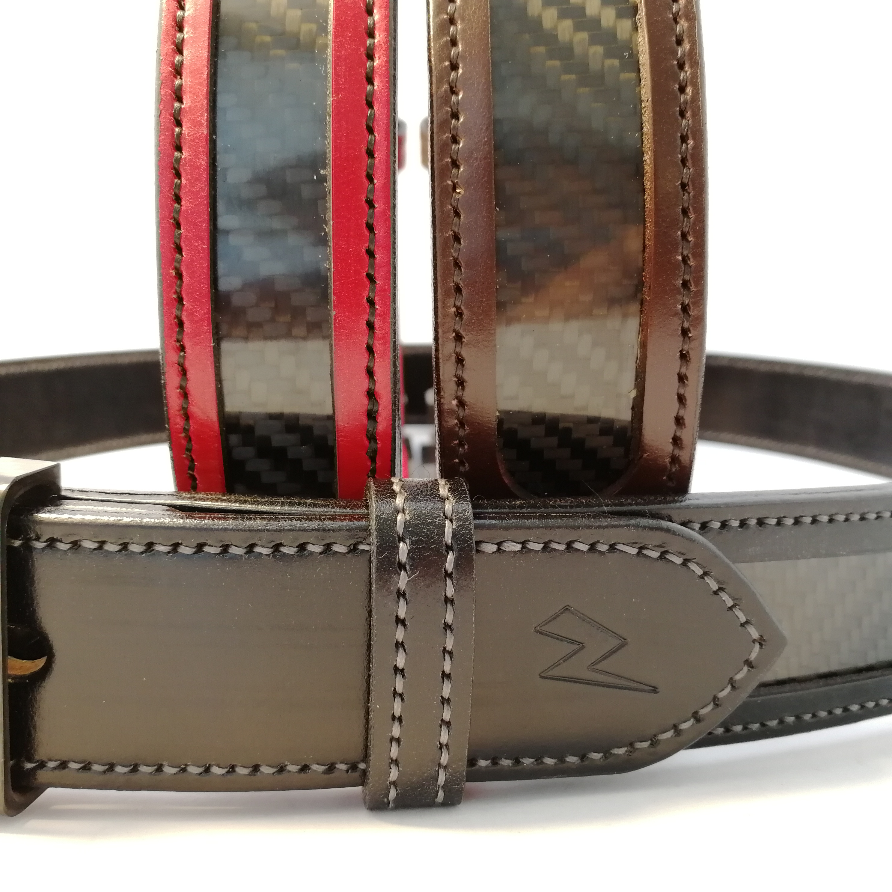 ZEEK® and TBM's Carbon Fibre and Leather Belts