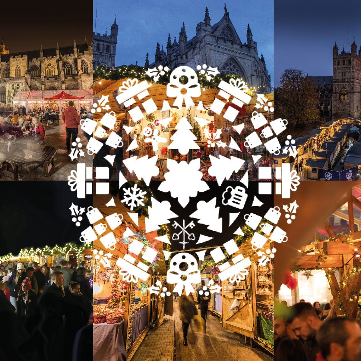Exeter Cathedral Christmas Market